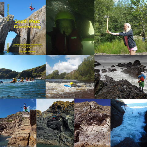 Go Coasteering 2016 Highlights